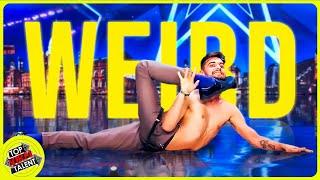 WEIRD FLEX BUT OK!!! CRAZY CONTORTION ARTISTS on Spain's Got Talent
