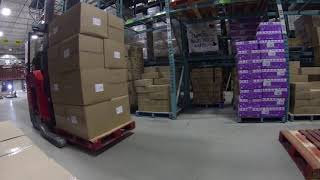 Life of a Narrow Aisle Forklift Driver