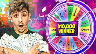 Giving Jackpot Winners $10,000 at an Arcade!