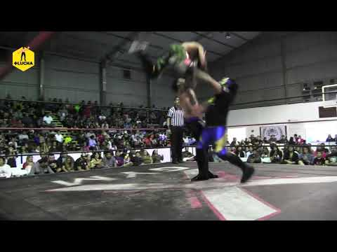 Fly Star y Rayo Star vs Scalibur y Kamik-c - AKE La Casa Extrema