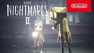 Nintendo LITTLE NIGHTMARES II - Lost in Transmission Trailer  anuncio