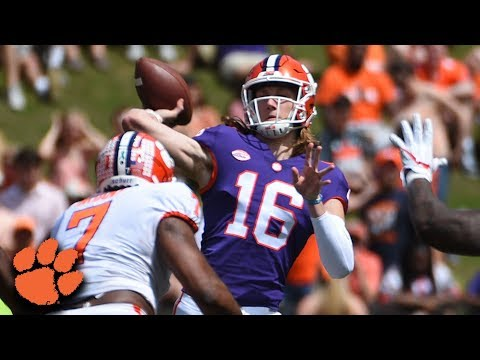 Freshman Trevor Lawrence Goes Long On First Drive For Clemson