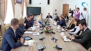 Губернатор Андрей Никитин встретился с командой будущих управленцев