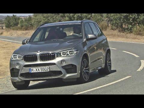 First Drive: 2015 BMW X5 M - 575 hp - Good exhaust sound!