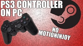 How to EASILY Use a PS3 Controller on PC Wireless (No Motioninjoy) April-2017