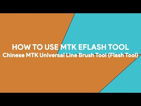 How To Use MTK eFlash Tool - [romshillzz]