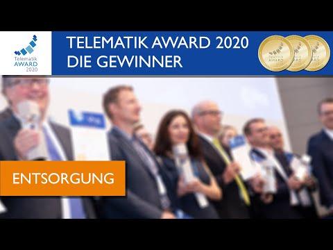 Den #TelematikAward2020 in der Kategorie Entsorgung.
