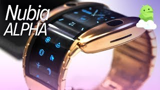 ZTE nubia Alpha hands-on: bendable, foldable, wearable phone!