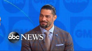 WWE wrestler Roman Reigns opens up about his leukemia battle l GMA