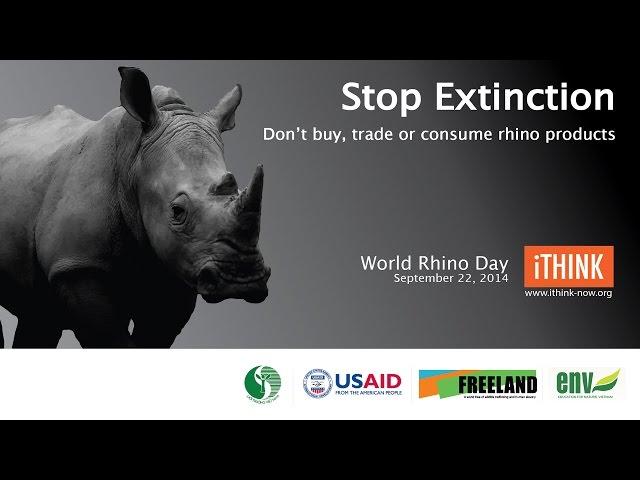 Stop Rhino Extinction
