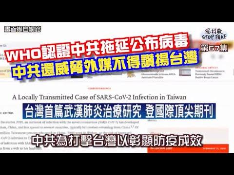 【思打廢-STOP FAKE】第67集 中共威脅外媒不得讚揚臺灣