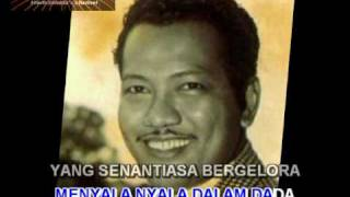 """Rindu Hatiku Tidak Terkira""(Karaoke) Lagu P.Ramlee versi piring hitam"