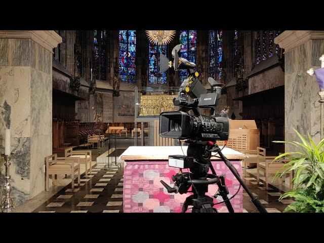 Live aus dem Aachener Dom: Pontifikalamt am Fest der Aufnahme Mariens in den Himmel am Samstag, 15. August, 10.00 Uhr