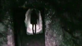 Призрака засняли в шахте