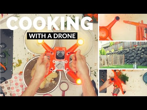 How To Use A Drone For Easy Dinner Prep