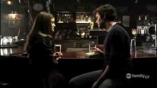 Aria and Ezra first meet at the Bar - Pretty Little Liars