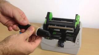 Express Ribbon Printer - Loading the Foil