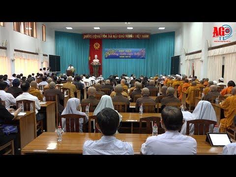 Họp mặt nhân sĩ trí thức, dân tộc, tôn giáo, Việt kiều tiêu biểu mừng Xuân Mậu Tuất 2018