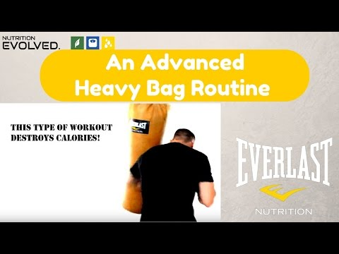 Advanced Heavy Bag Routine