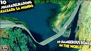 🔟 Pinakadelikadong Kalsada sa Mundo   10 Dangerous Road in The World   #KuyaKimTV