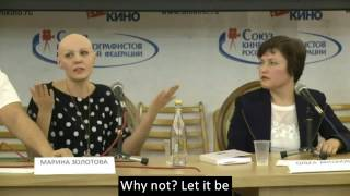 (eng sub!) Moments of the alopecia awareness conference held in Moscow in 2016