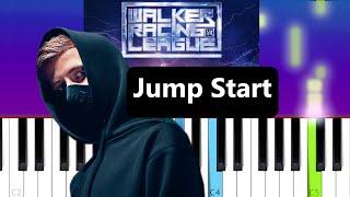 Alan Walker - Jump Start  (Piano Tutorial)