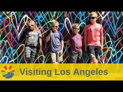 Visiting Los Angeles and the surrounding area with 4 kids!