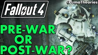 Fallout 4 Mystery: Is X 01 Pre or Post War Power Armor? (Lore Confusion) #PumaTheories