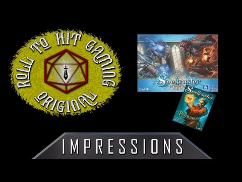 Roll to Hit Gaming - Impressions: Spellcaster