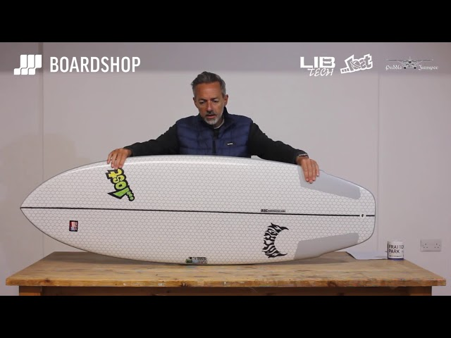 Lib Tech X Lost Puddle Jumper Surfboard Review