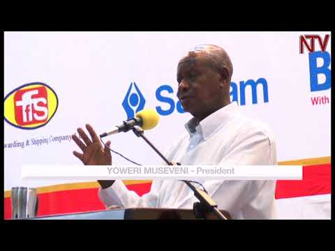 President museveni vows to crack whip on the corruption