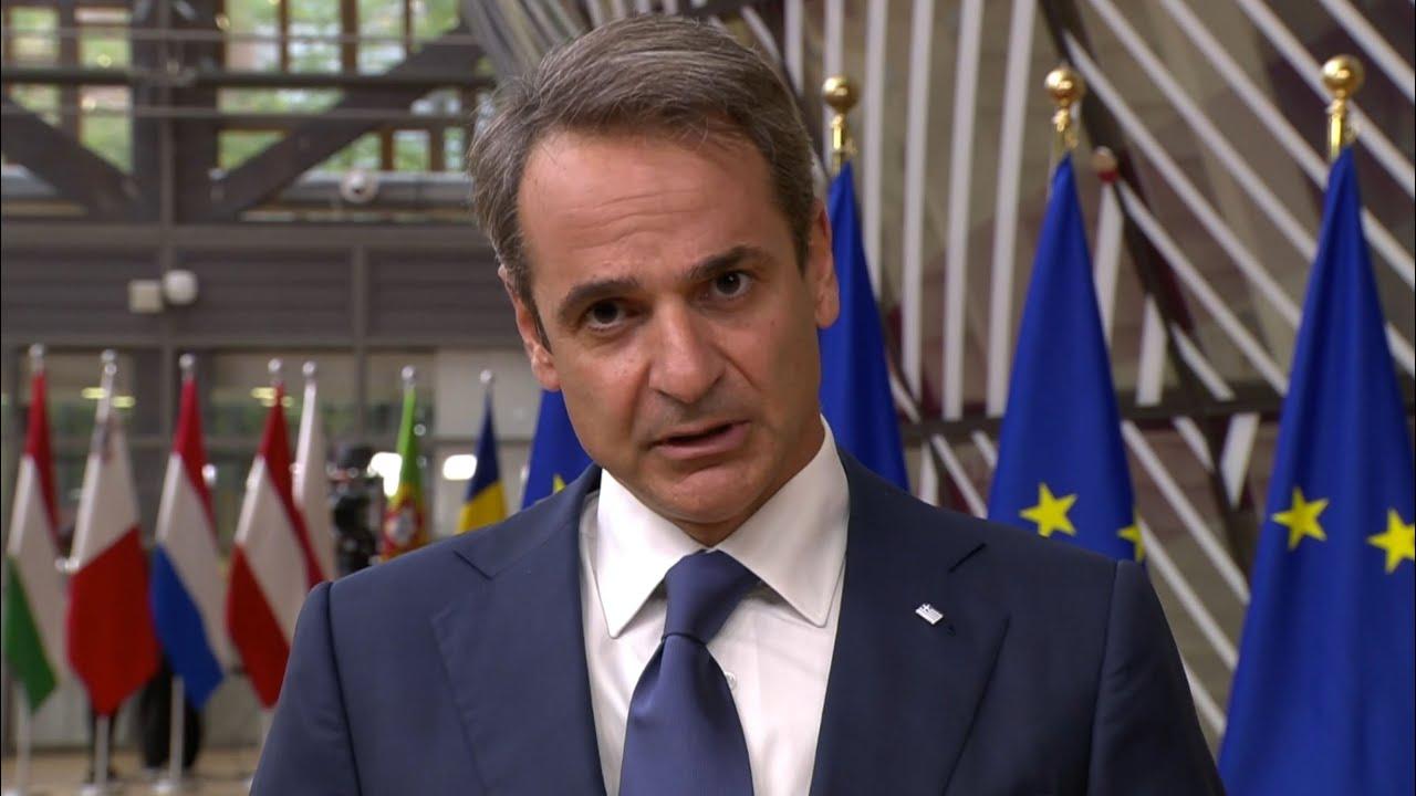Δήλωση Κυριάκου Μητσοτάκη κατά την άφιξή του στην Ειδική Σύνοδο Κορυφής του Ευρωπαϊκού Συμβουλίου