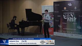 Antonin Cros plays Brillance 1st, 2nd & 3rd by Ida Gotkovsky