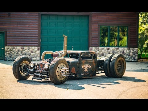 Crazy Big Engine Hot Rods