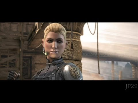 Mortal Kombat X : Cassie Cage All Intro Dialogues (MKX)