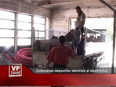 Colectarea deşeurilor electrice şi electronice