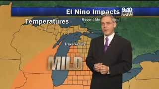 El Niño - Effect on North America Weather