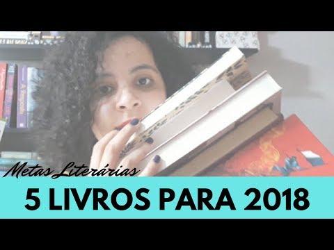 5 LIVROS PARA 2018 - META DE LEITURA | VLOGMAS #31 | Livraneios