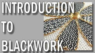 Introduction To Blackwork Embroidery | Hand Embroidery Video