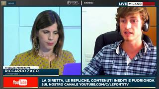 Riccardo Zago a Le Fonti TV: JUVENTUS, USDJPY, e tanto altro
