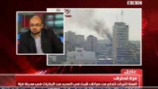 preview picture of video 'رئيس بي بي سي يفضح المتحدث الإسرائيلي الكذاب اوفير'