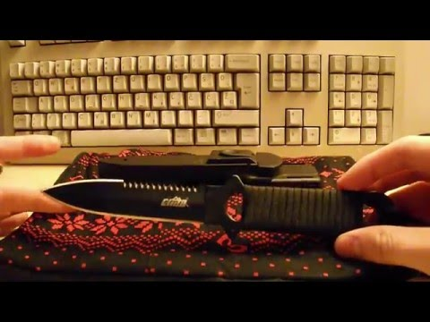 CIMA A18 Diving Knife Quick and Dirty Review || Gearbest