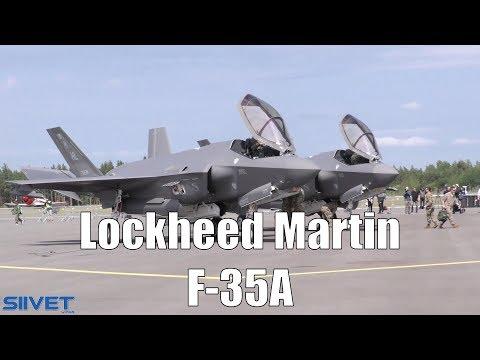 F-35A - Two Stealth Jets On Display - Turku 2019