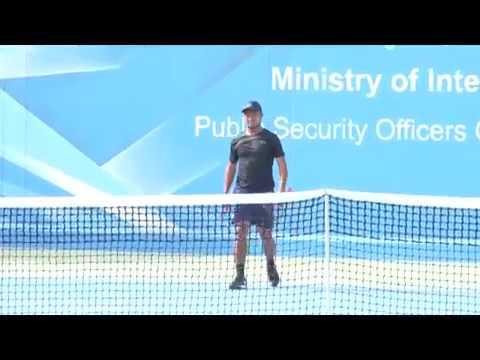 برومو الحلقة الثانية لبطولة وزير الداخلية للتنس 28/3/2019