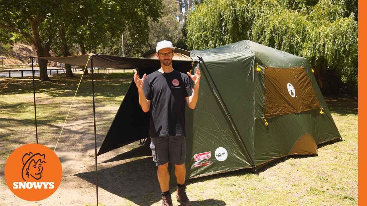 Instant Up 6P Lighted Northstar Darkroom Tent