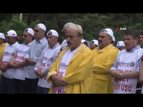 Şehit Muhammed Mursi için gıyabi cenaze namazı kılındı.