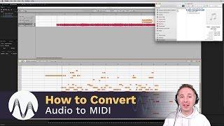 How to Convert Audio to MIDI