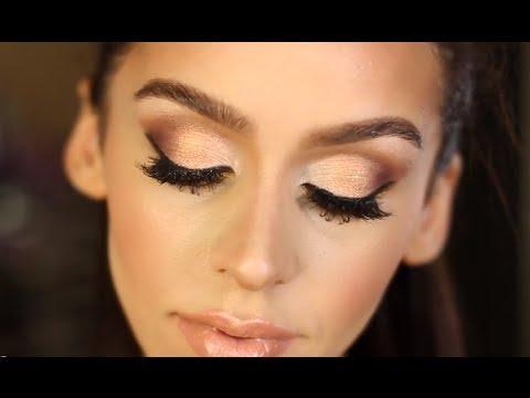Смотреть онлайн видео Gold and Bronze Smokey Eye Makeup ... - photo #44
