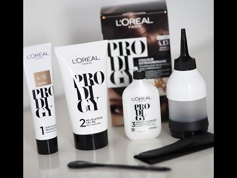Обзор на краску для волос L'Oreal Prodigy