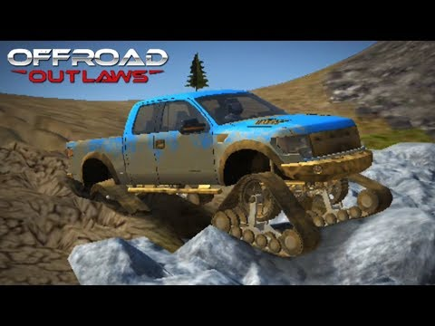 Offroad Outlaws - TESTING TANK TRACKS! NEW UPDATE 1.2.7 (Offroad Outlaws 2018 Gameplay)